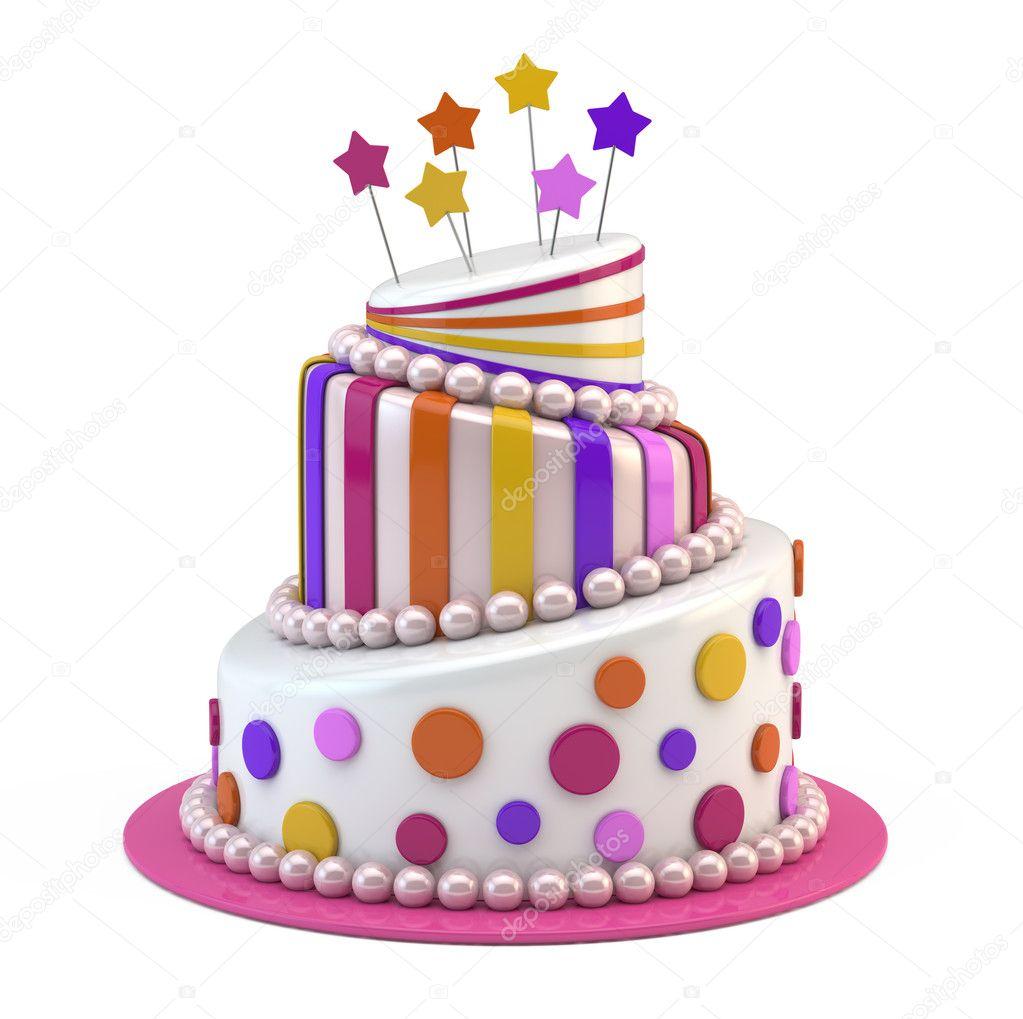 Birthday cake designs Big holiday cake