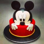 Micky mouse kids birthday cake
